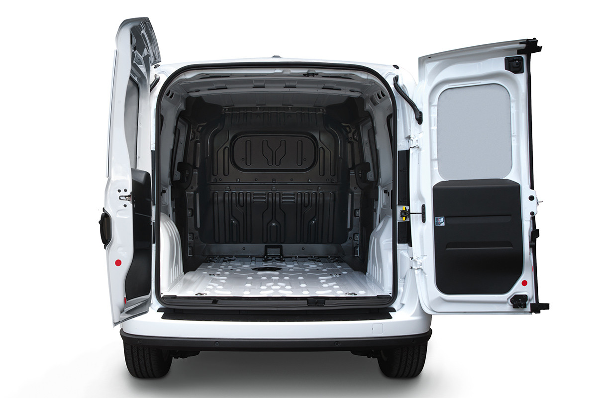 2019 Ram ProMaster City exterior view with open rear doors