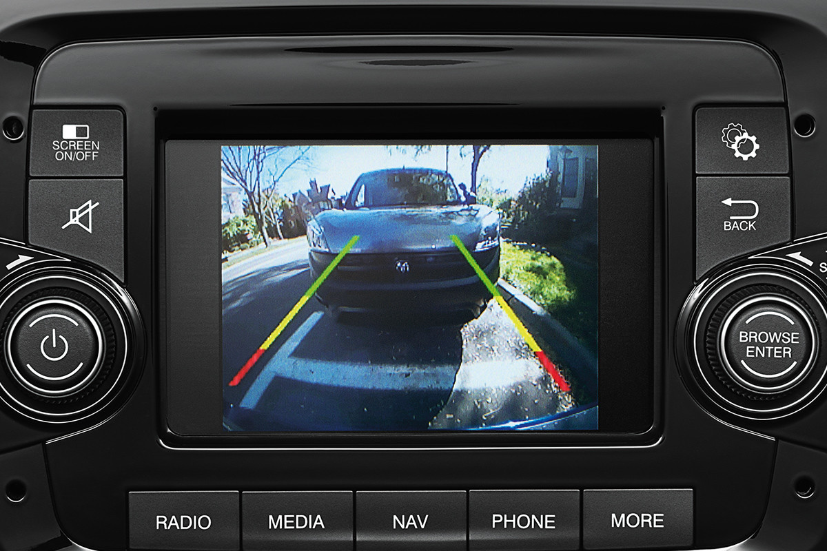 2019 Ram ProMaster City ParkView Rear Back-Up Camera on multimedia centre screen