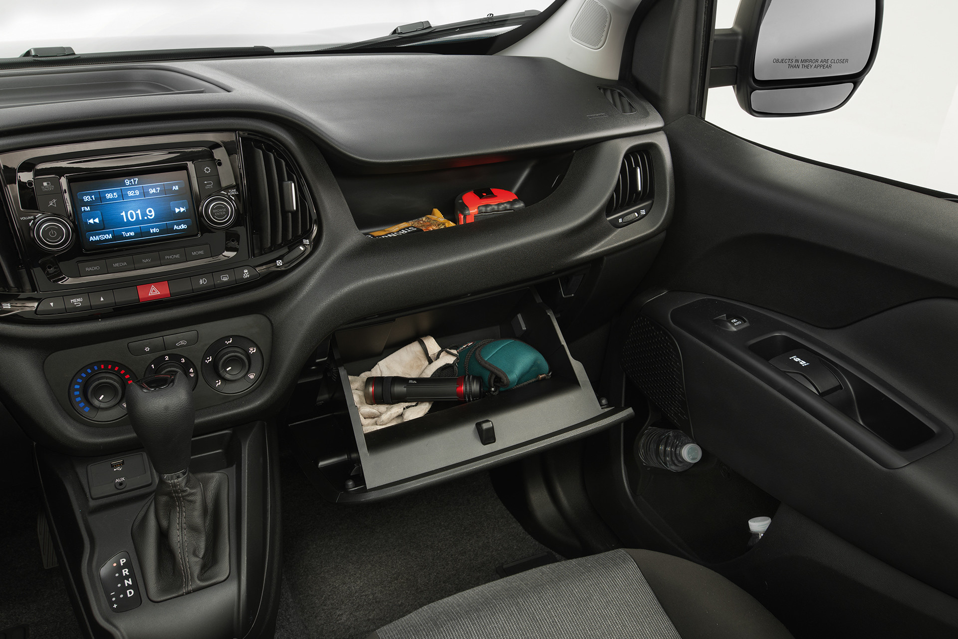 2019 Ram ProMaster City cockpit dual glove box storage