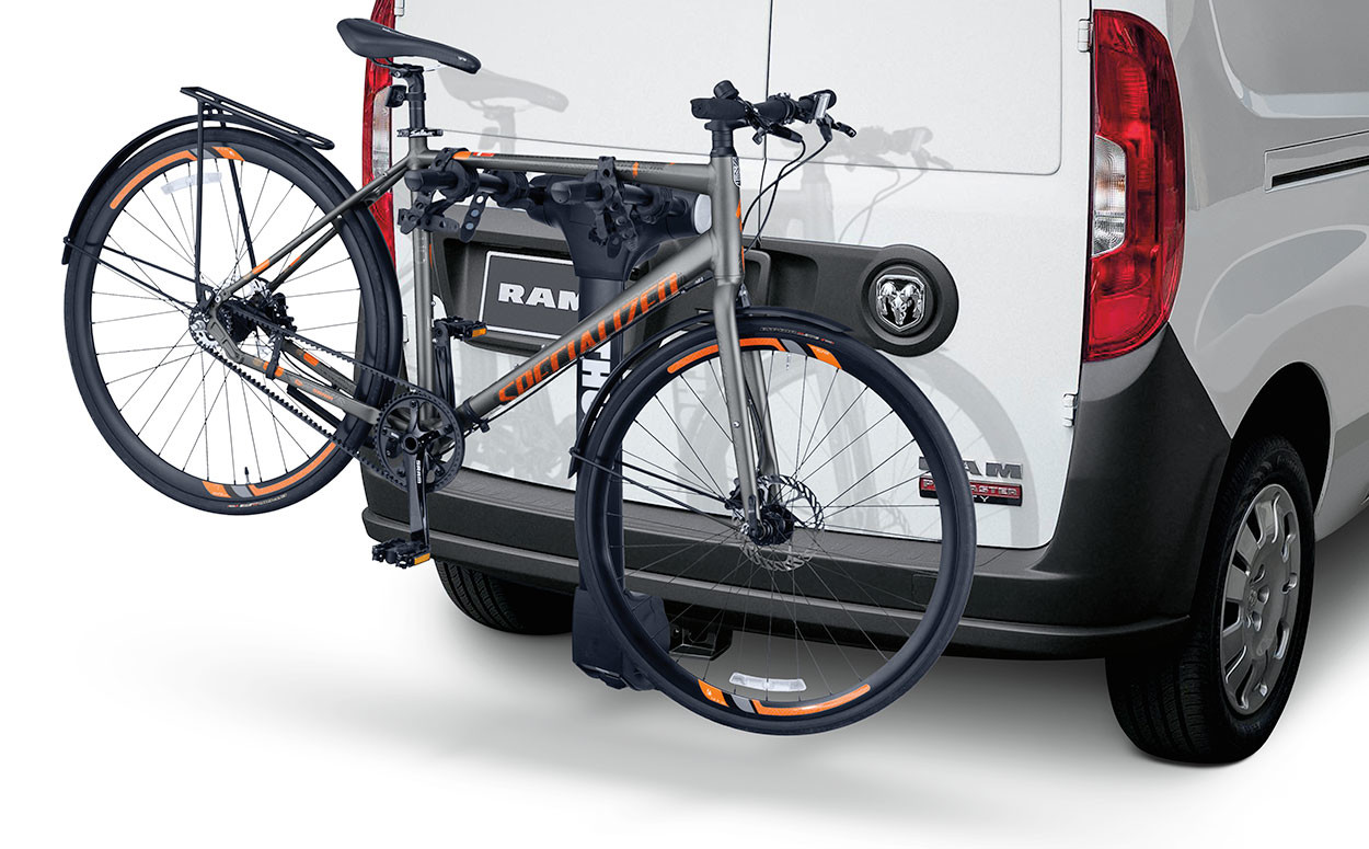 2019 Ram Pro Master City Mopar bicycle accessories