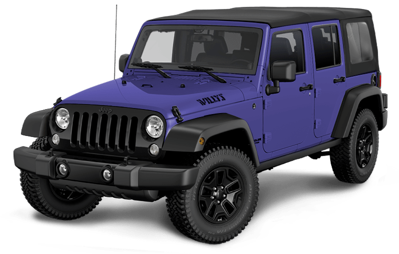 Jeep® Wrangler JK Unlimited Willys Wheeler 2018