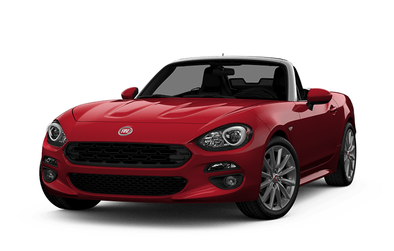 FIATMD 124 Spider 2020 Lusso - Rouge hypnotique