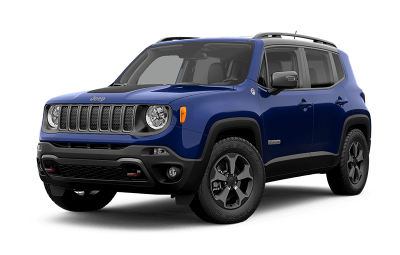 Jeep® Renegade 2020 TrailhawkMD - Bleu jet-set