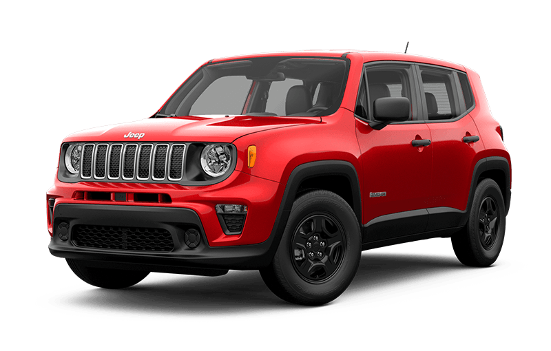Jeep® Renegade 2020 Sport - Rouge Colorado