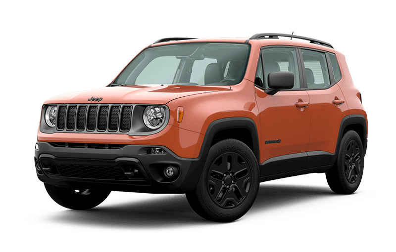 Jeep® Renegade 2020 Upland - Orange Omaha