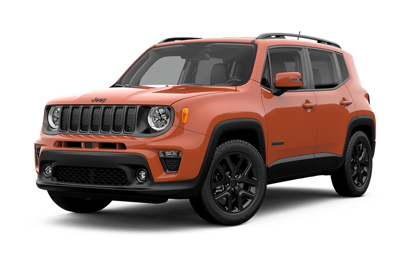 Jeep® Renegade 2020 Altitude - Orange Omaha