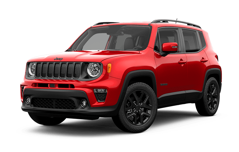 Jeep® Renegade 2020 Altitude - Rouge Colorado