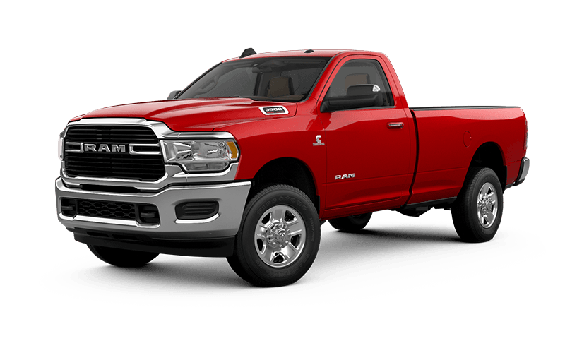Ram 3500 2020 Big Horn - Rouge flamboyant
