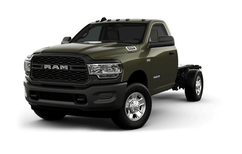 2020 Ram Chassis Cab 3500 Tradesman - Olive Green Pearl