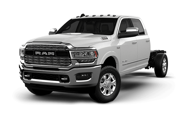 2020 Ram Chassis Cab 3500 Limited - Pearl White