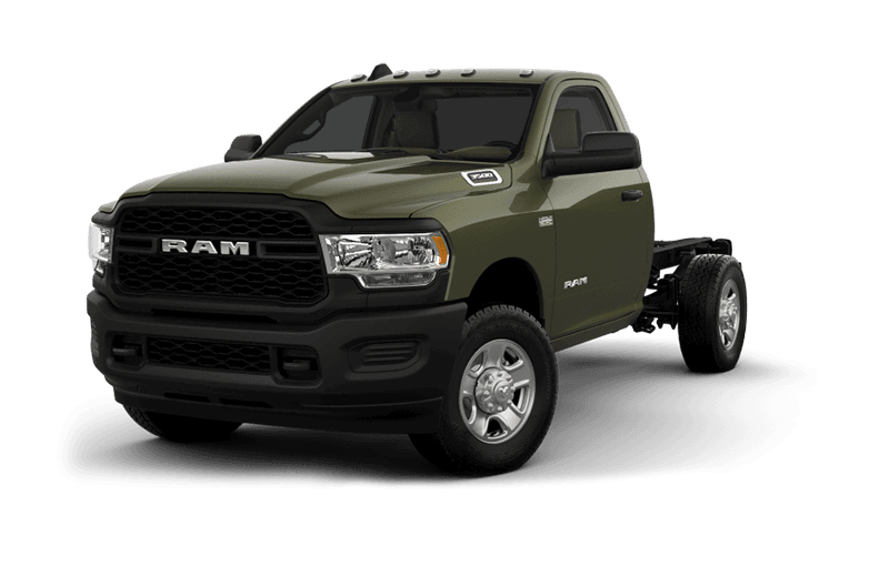 2020 Ram Chassis Cab 3500 Tradesman (9,900 lb GVW) - Olive Green Pearl