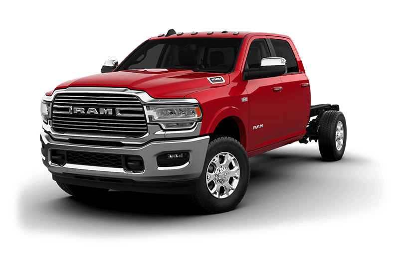 2020 Ram Chassis Cab 3500 Laramie (9,900 lb GVW) - Flame Red