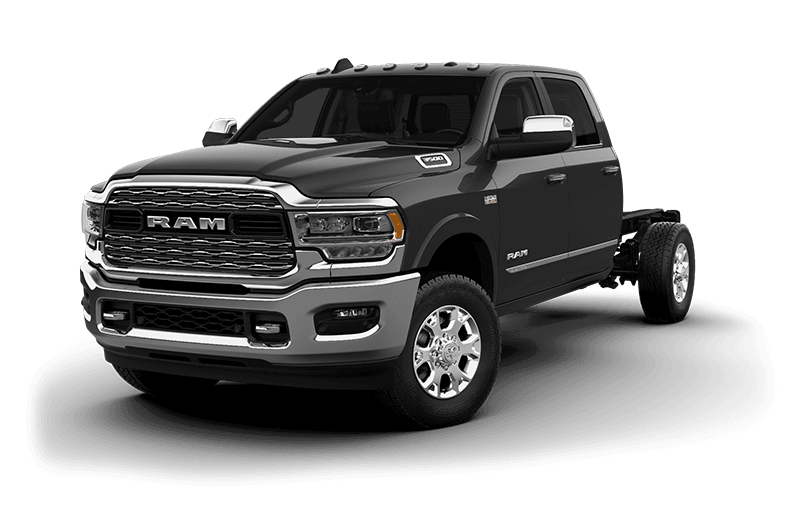 2020 Ram Chassis Cab 3500 Limited (9,900 lb GVW) - Granite Crystal Metallic