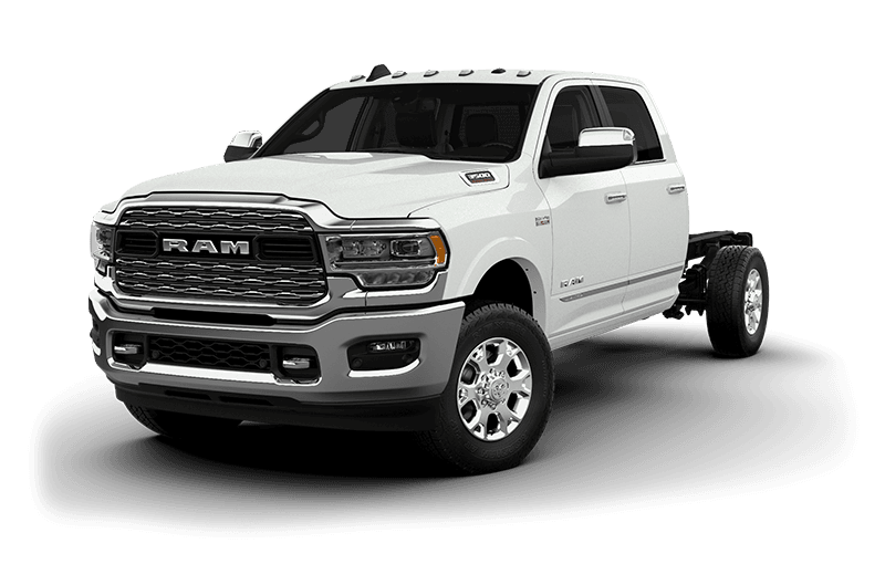 2020 Ram Chassis Cab 3500 Limited (9,900 lb GVW) - Bright White