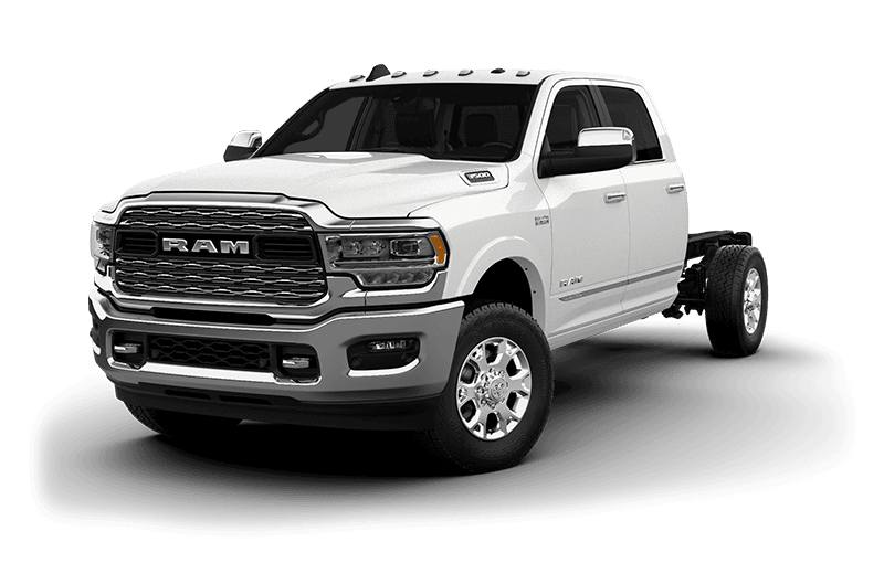2020 Ram Chassis Cab 3500 Limited (9,900 lb GVW) - Pearl White