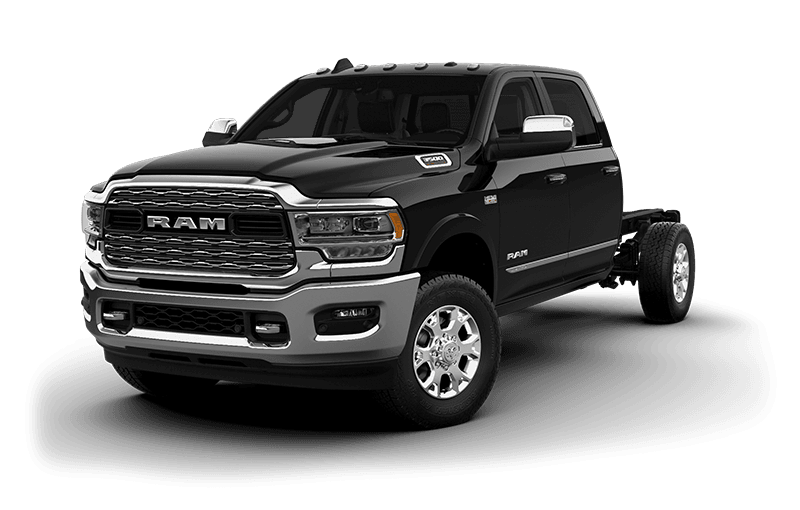 2020 Ram Chassis Cab 3500 Limited (9,900 lb GVW) - Black