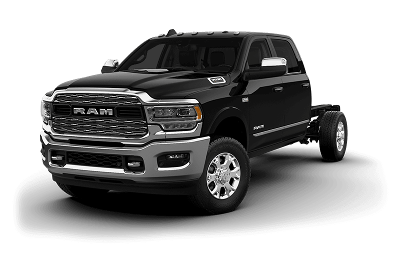 2020 Ram Chassis Cab 3500 Limited (9,900 lb GVW) - Diamond Black Crystal Pearl