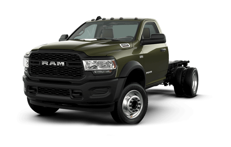 2020 Ram Chassis Cab 4500 Tradesman - Olive Green Pearl