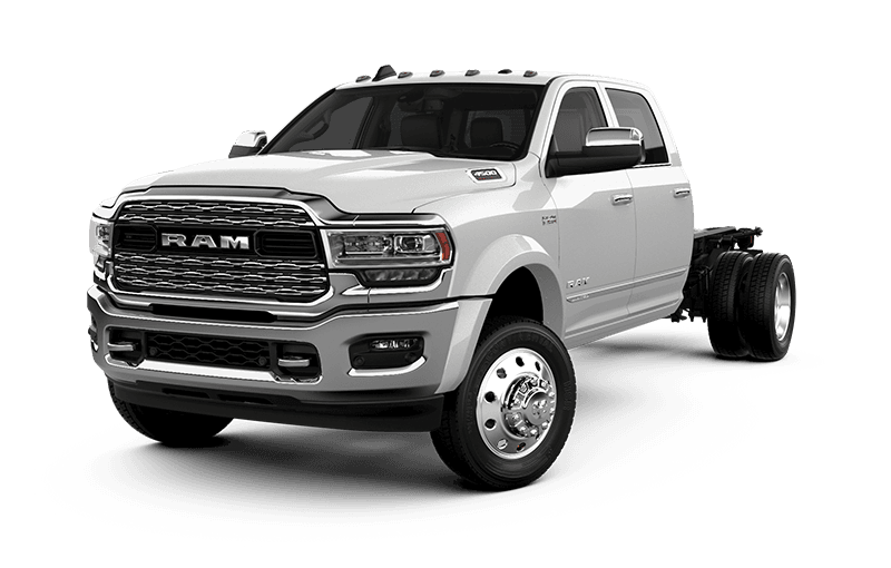 2020 Ram Chassis Cab 4500 Limited - Pearl White