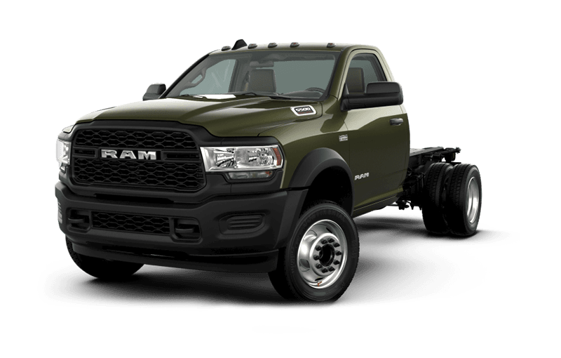 2020 Ram Chassis Cab 5500 Tradesman - Olive Green Pearl