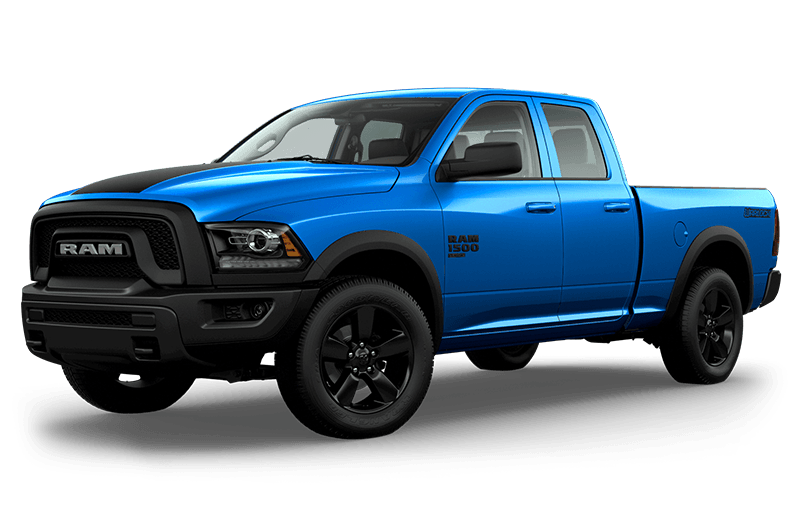 2020 Ram 1500 Classic Warlock - Hydro Blue Pearl (late availability)