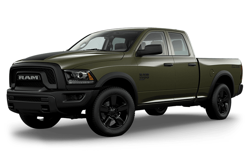 2020 Ram 1500 Classic Warlock - Olive Green (late availability)