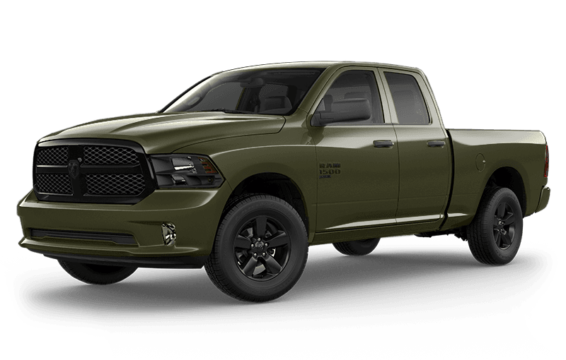 2020 Ram 1500 Classic Night Edition - Olive Green (late availability)