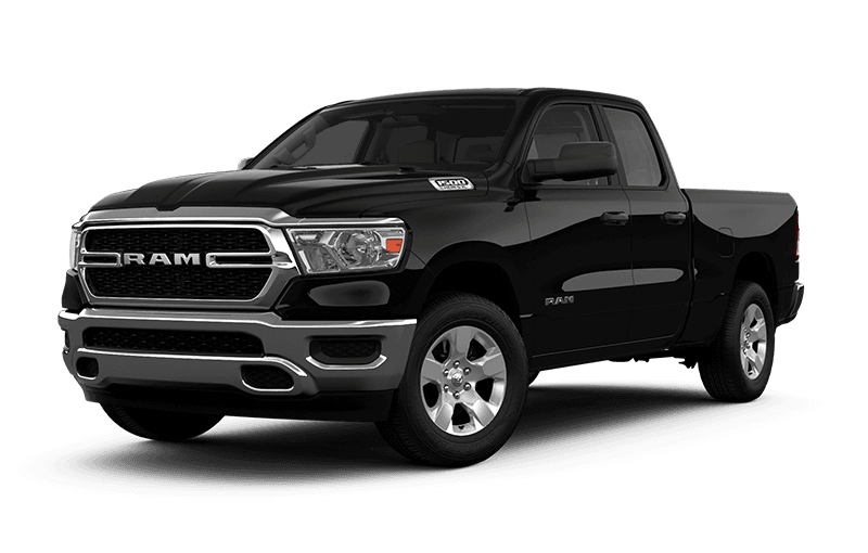 2020 Ram 1500 Tradesman - Diamond Black Crystal Pearl