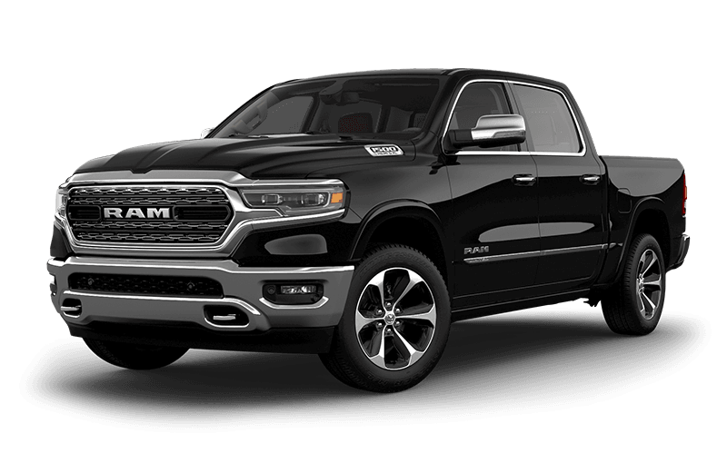 2020 Ram 1500 Limited - Diamond Black Crystal Pearl