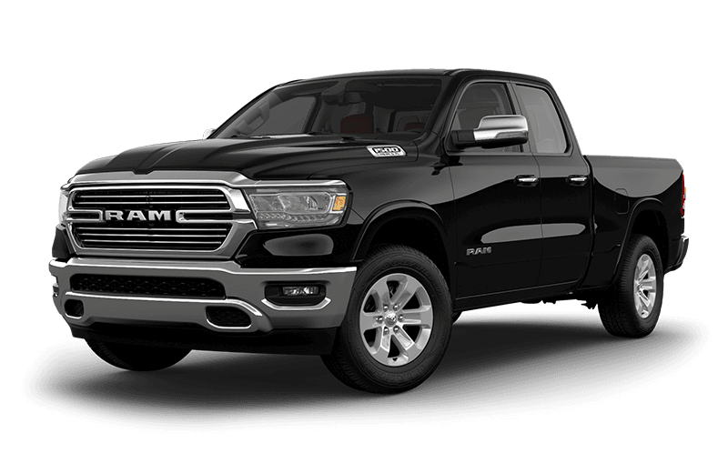2020 Ram 1500 Laramie - Diamond Black Crystal Pearl