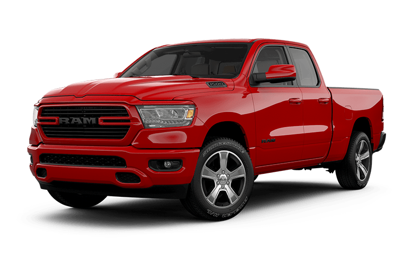 2020 Ram 1500 Sport - Flame Red