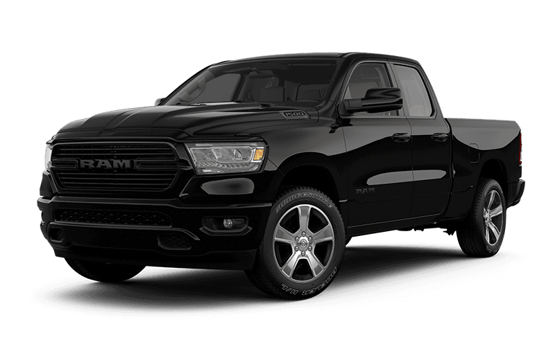 2020 Ram 1500 Sport - Diamond Black Crystal Pearl