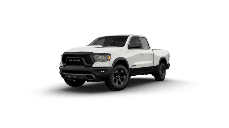 2020 Ram 1500 Rebel - Ivory Tri-Coat Pearl