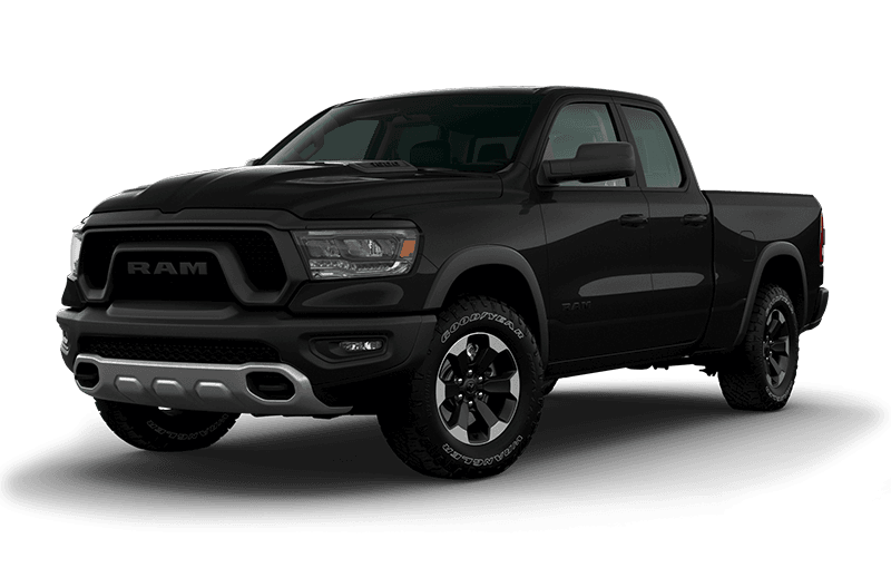 2020 Ram 1500 Rebel - Diamond Black Crystal Pearl