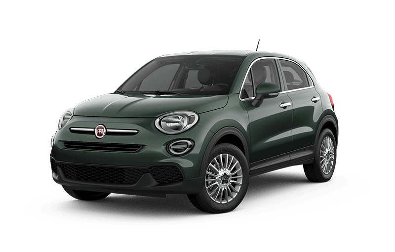 2020 FIAT 500X Pop - Vibrante green metallic
