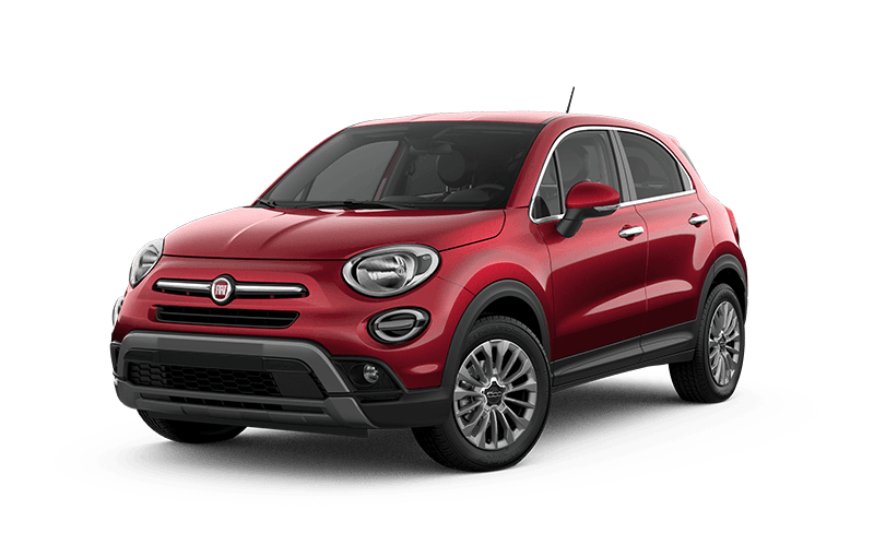 2020 FIAT 500X Trekking - Amore red metallic