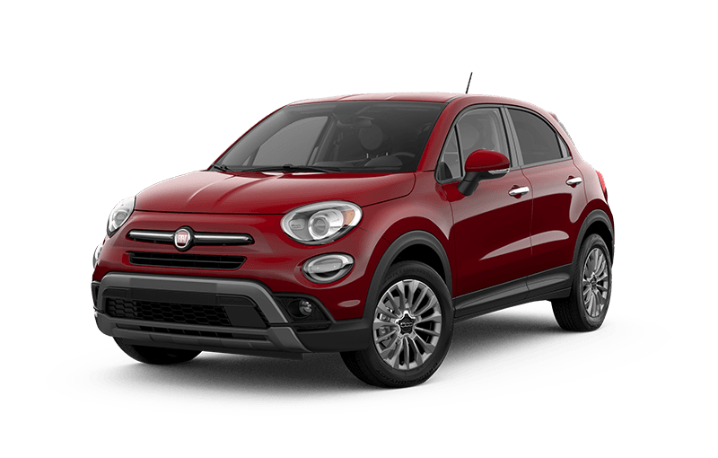 FIATMD 500X 2020 Trekking - Rouge passion