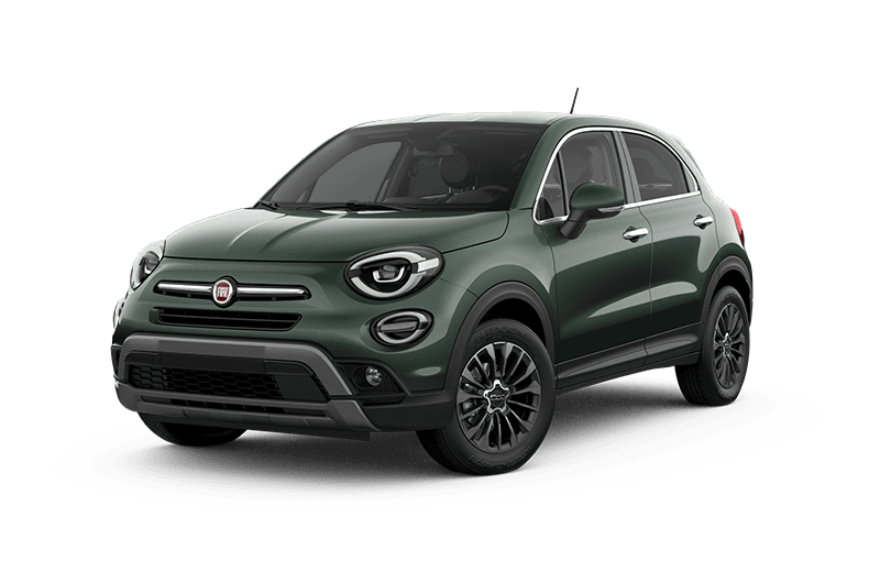 2020 FIAT 500X Trekking Plus - Vibrante green metallic