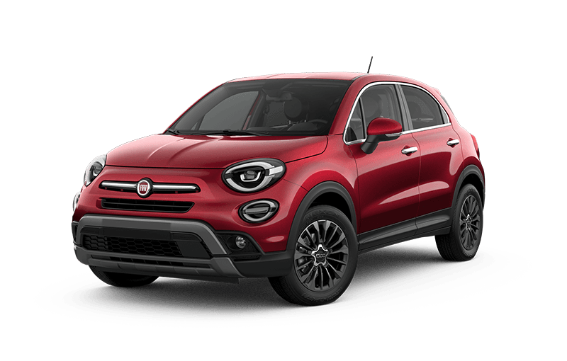 2020 FIAT 500X Trekking Plus - Amore red metallic