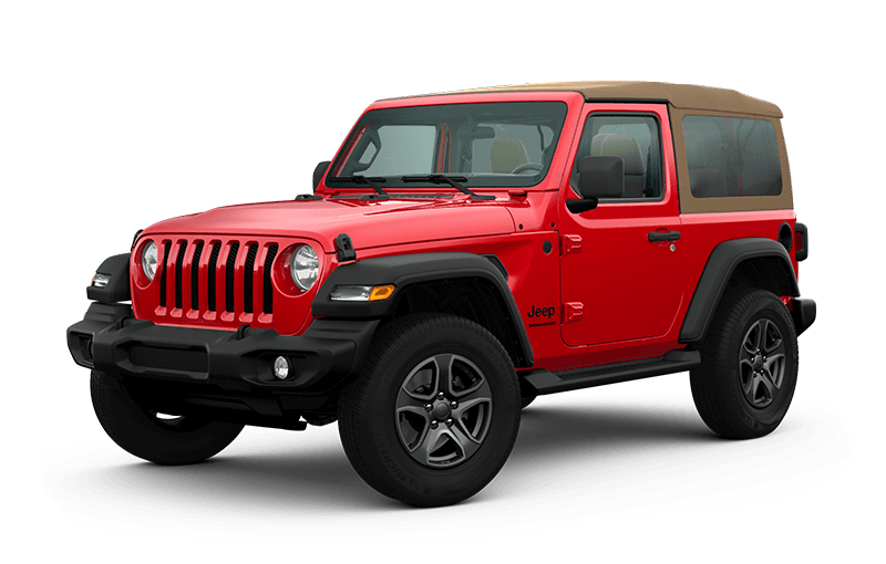 2020 Jeep® Wrangler Black & Tan Edition - Firecracker Red