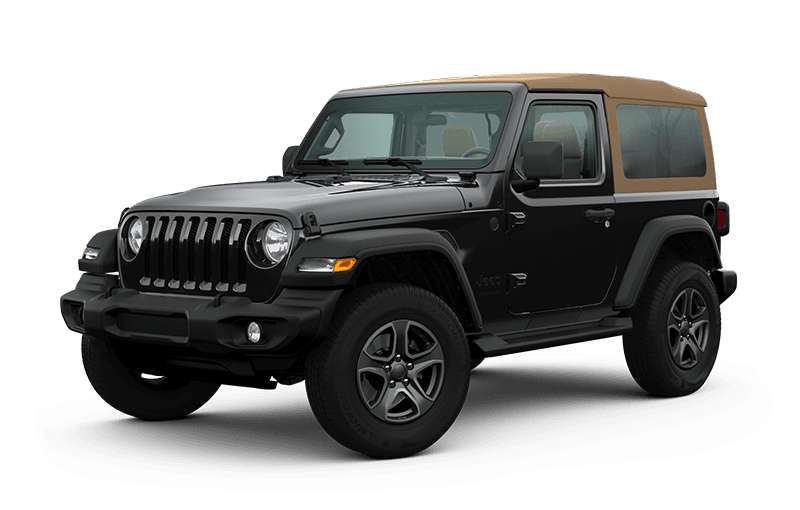 2020 Jeep® Wrangler Black & Tan Edition