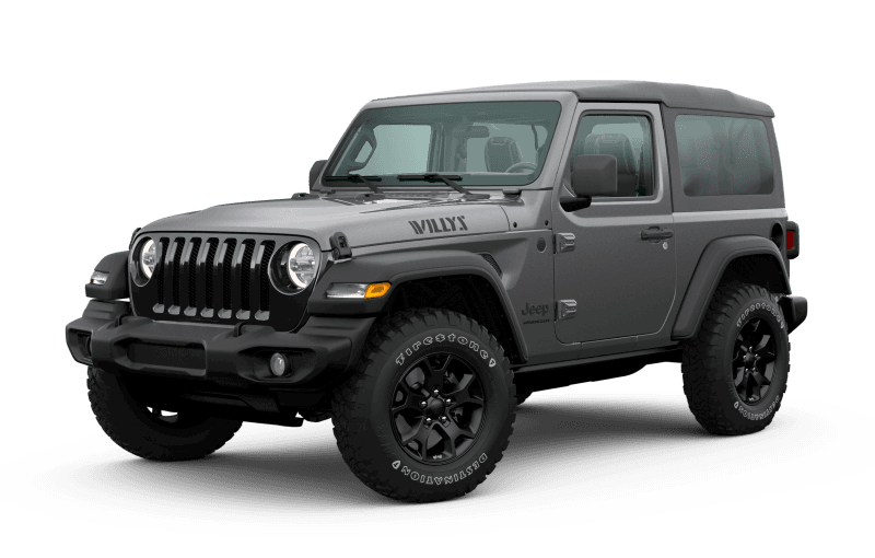 2020 Jeep® Wrangler Willys Edition - Granite Crystal