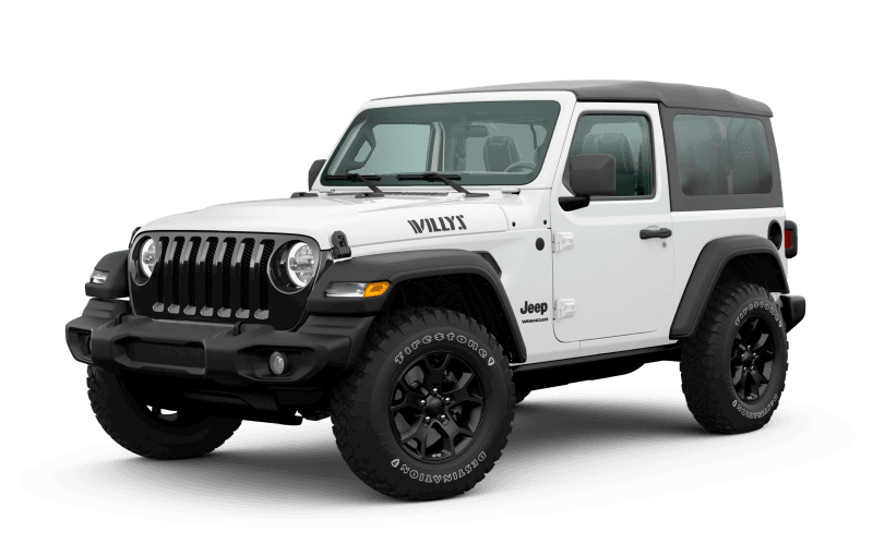 2020 Jeep® Wrangler Willys Edition - Bright White