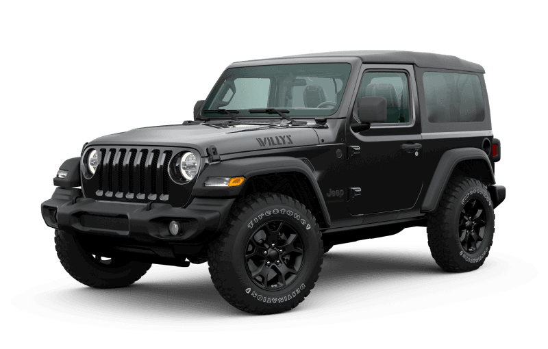 2020 Jeep® Wrangler Willys Edition - Black