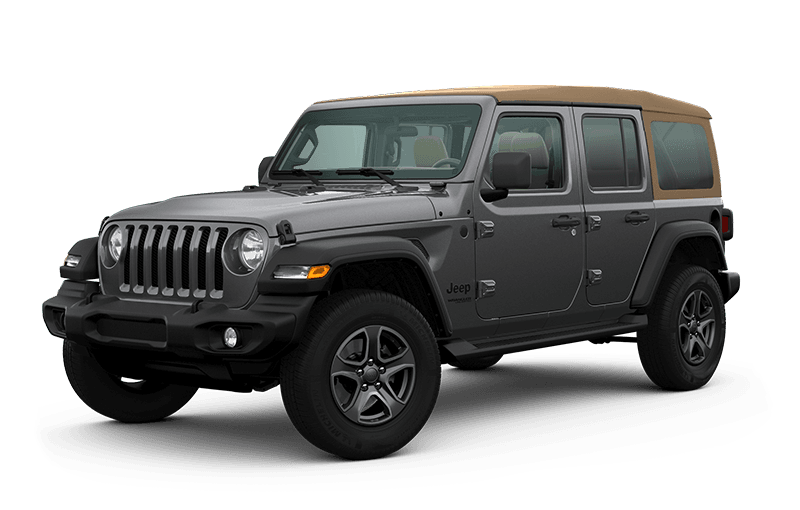 2020 Jeep® Wrangler Unlimited Black & Tan Edition - Granite Crystal