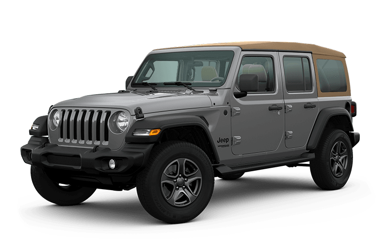 2020 Jeep® Wrangler Unlimited Black & Tan Edition