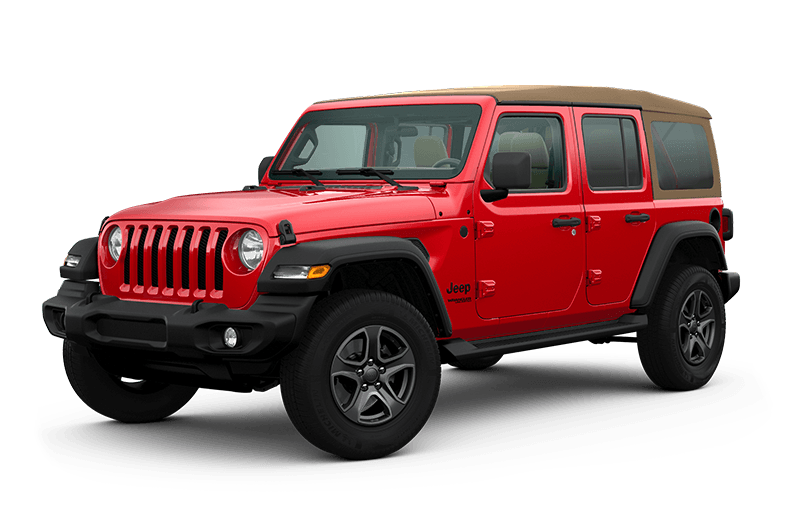 2020 Jeep® Wrangler Unlimited Black & Tan Edition - Firecracker Red