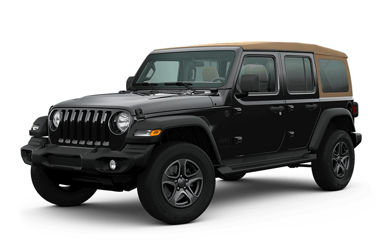 2020 Jeep® Wrangler Unlimited Black & Tan Edition - Black