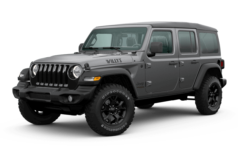 2020 Jeep® Wrangler Unlimited Willys Edition - Granite Crystal
