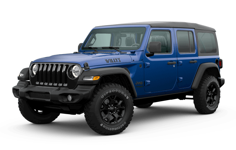 2020 Jeep® Wrangler Unlimited Willys Edition - Ocean Blue Metallic